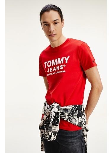Tommy Hilfiger Erkek Tjm Essentıal Front Tişört DM0DM08349XNL Renkli